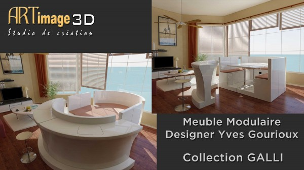 Meuble design AI3D